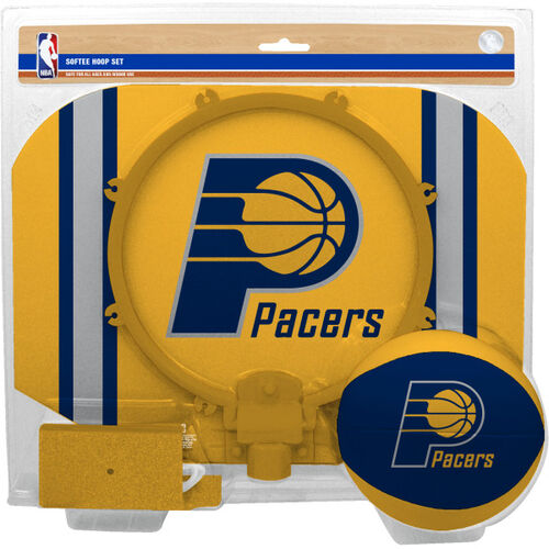 Rawlings Yellow and Navy NBA Indiana Pacers Softee Hoop Set With Team Logo SKU #03544201114