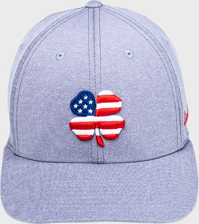 Rawlings Black Clover USA Heathered Fitted Hat