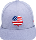 Rawlings Black Clover USA Heathered Fitted Hat image number null