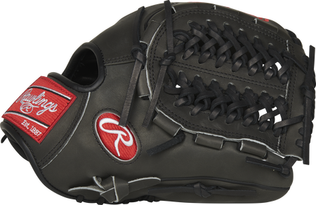 PRO205W-15DSP 11.75-inch Heart of the Hide Wing Tip glove with a dark shadow Modified Trap-Eze web and thumb
