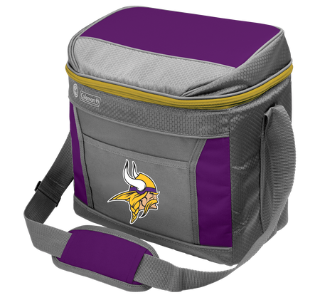 Rawlings Minnesota Vikings 16 Can Cooler In Team Colors With Team Logo On Front SKU #03291075111