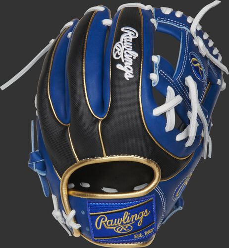 PRO234-2RSSG Heart of the Hide ColorSync 11.5-Inch infield glove with a black Speed Shell back