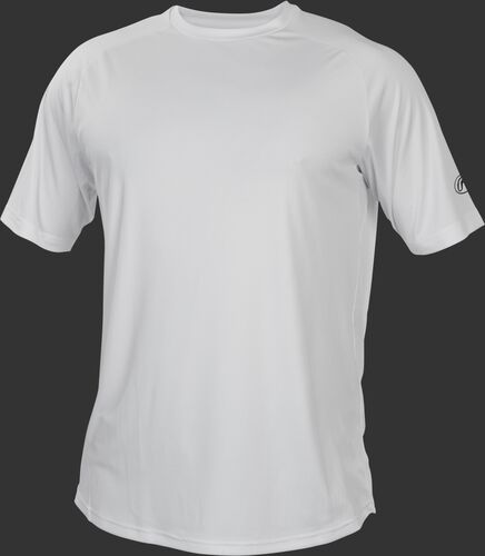 RTT White Adult crew neck short sleeve jersey