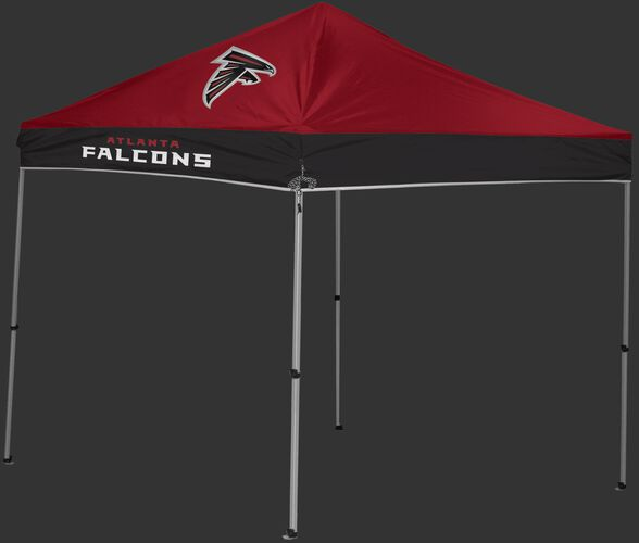 Rawlings Red and Black NFL Atlanta Falcons 9x9 Canopy Shelter With Team Logo and Name SKU #03231060111