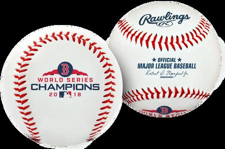 2018 Boston Red Sox World Series Champion Replica Baseball