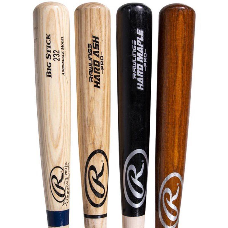 4 Adult Adirondack grade blem wood bat