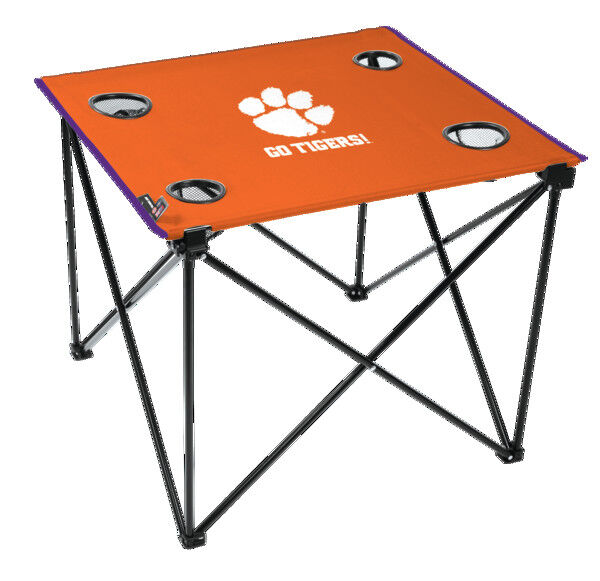 NCAA Clemson Tigers Deluxe Tailgate Table