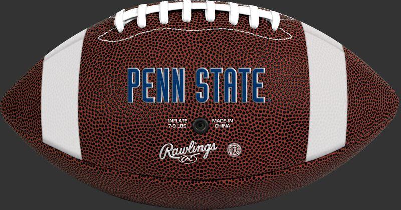 Brown NCAA Penn State Nittany Lions Football With Team Name SKU #04623050811