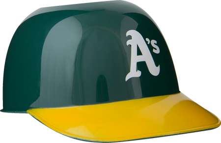 MLB Oakland Athletics Snack Size Helmets