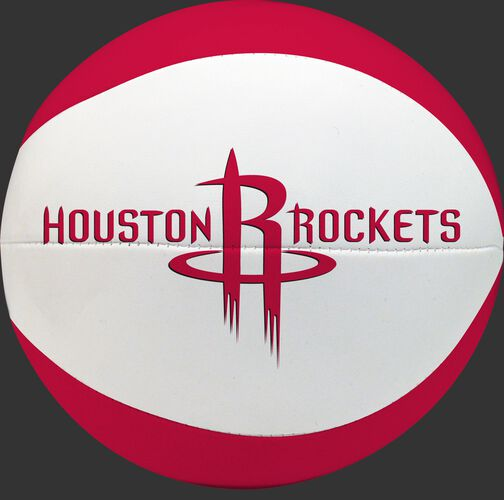 Rawlings Red and White NBA Houston Rockets Softee Basketball With Team Name and Logo SKU #03564209111