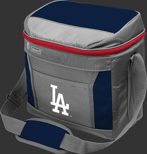 Rawlings Los Angeles Dodgers 16 Can Cooler In Team Colors With Team Logo On Front SKU #03140011111