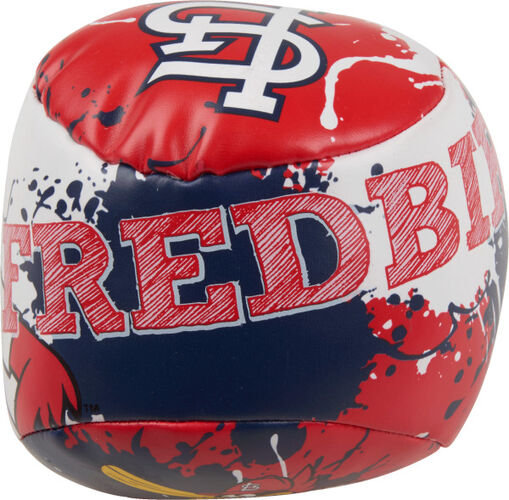 Top of Rawlings St. Louis Cardinals Quick Toss 4'' Softee Baseball With Team Name On Front In Team Colors SKU #01320007112