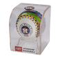 MLB Houston Astros stadium baseball in a display case image number null