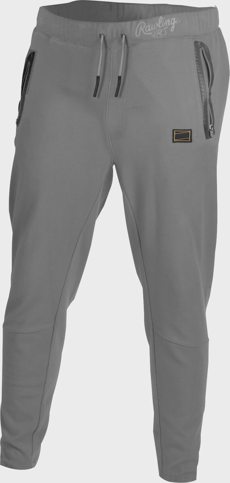 Gray Gold Collection jogger style pants with gray draw strings - SKU: GCJOG-BG