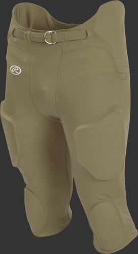 Front of Rawlings Vegas Gold Youth Lightweight Football Pants - SKU #YFPL
