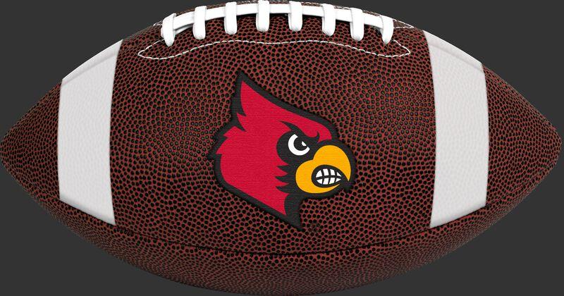 Brown NCAA Louisiana Ragin' Cajuns Football With Team Logo SKU #04623078811
