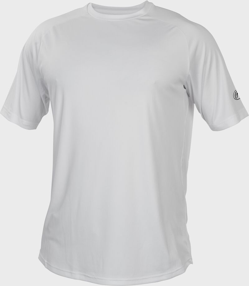 RTT White Adult crew neck short sleeve jersey