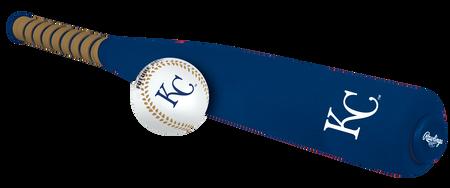 MLB Kansas City Royals Foam Bat and Ball Set