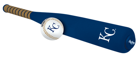 MLB Kansas City Royals Foam Bat and Ball Set