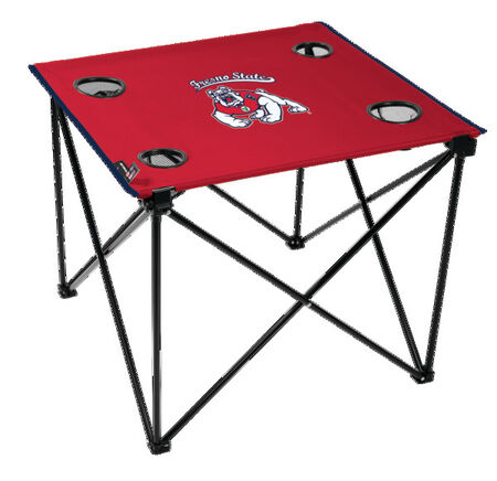 NCAA Fresno State Bulldogs Deluxe Tailgate Table