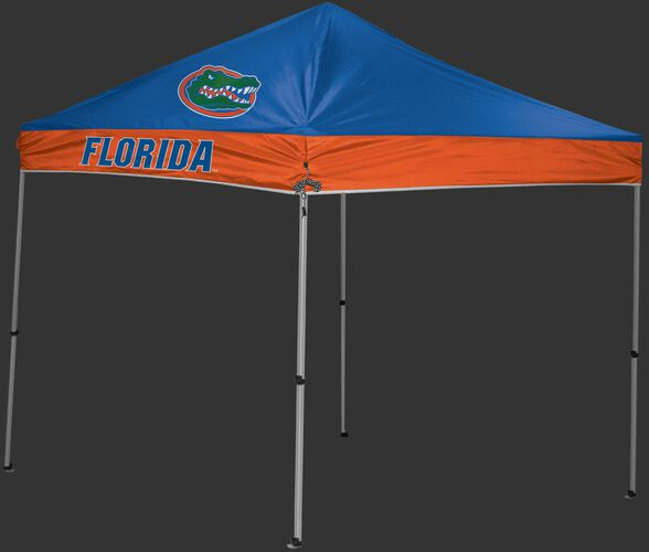 Rawlings Orange and Blue NCAA Florida Gators 9x9 Canopy Shelter With Team Logo and Name SKU #04033022111