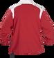 Back of Rawlings Scarlet Adult Long Sleeve Quarter-Zip Jacket - SKU #FORCEJ-B-88 image number null
