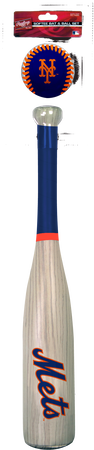 MLB New York Mets Bat and Ball Set