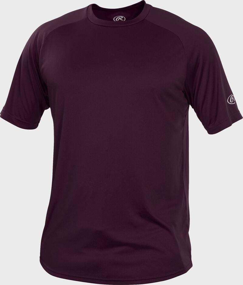 RTT Maroon Adult crew neck short sleeve jersey