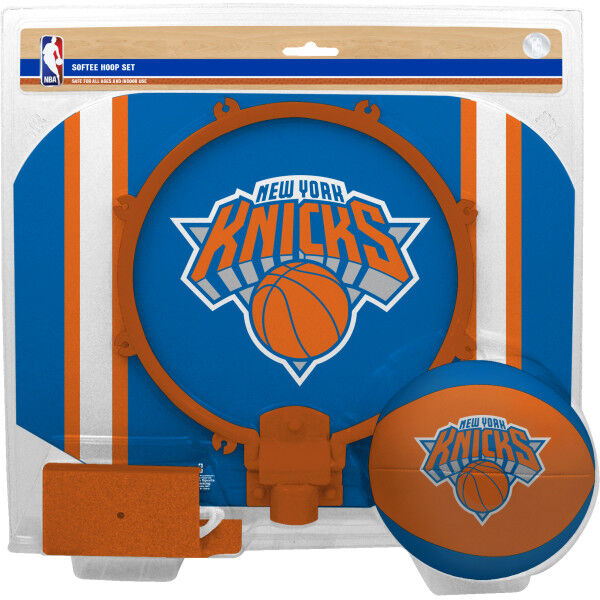 NBA New York Knicks Softee Hoop Set
