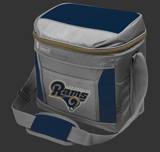 Rawlings Los Angeles Rams 16 Can Cooler In Team Colors With Team Logo On Front SKU #03291073112