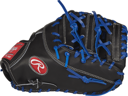 PROSAR44 Black Pro Preferred Anthony Rizzo 12.75-inch game day first base mitt with a black horizontal bar x-laced web