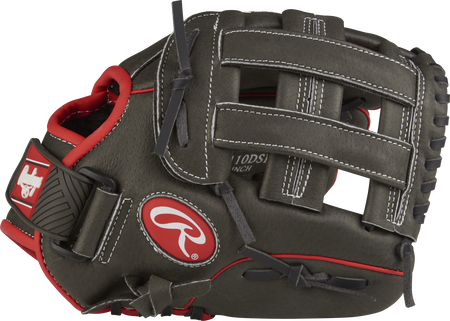 MPL110DSH 11-inch Mark of a Pro light youth infield glove with a dark shadow thumb and dark shadow H web