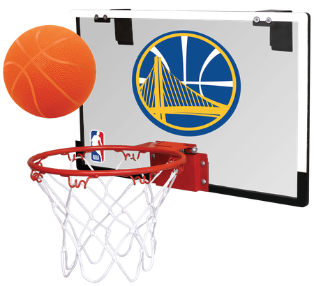 NBA Golden State Warriors Game On Hoop Set