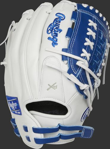 RLA125-18R 12.5-inch Liberty Advanced outfield/pitcher's glove with a white back and adjustable pull-strap