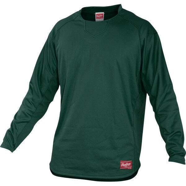 Youth Long Sleeve Shirt Dark Green