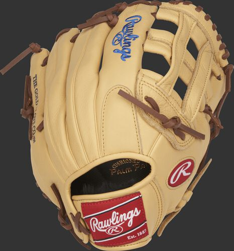 SPL115KB 11.5-inch Select Pro Lite Kris Bryant glove with a camel back