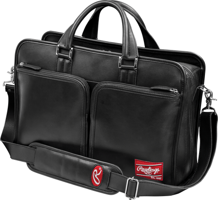 Heart of the Hide Black Briefcase