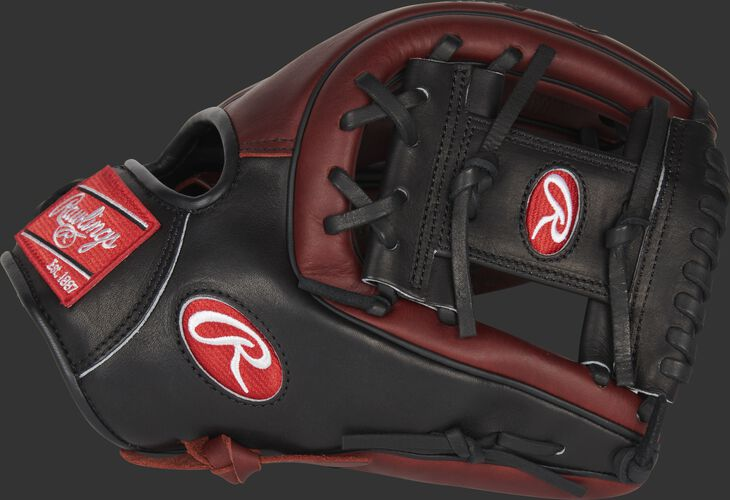 Thumb of a Rawlings Heart of the Hide 11.75-Inch infield glove with a black I-web - SKU: PRO315-2JPPRO