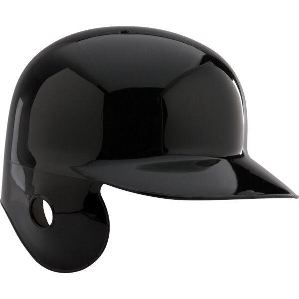 Adult Coolflo Batting Helmet for Left Handed Batter Black