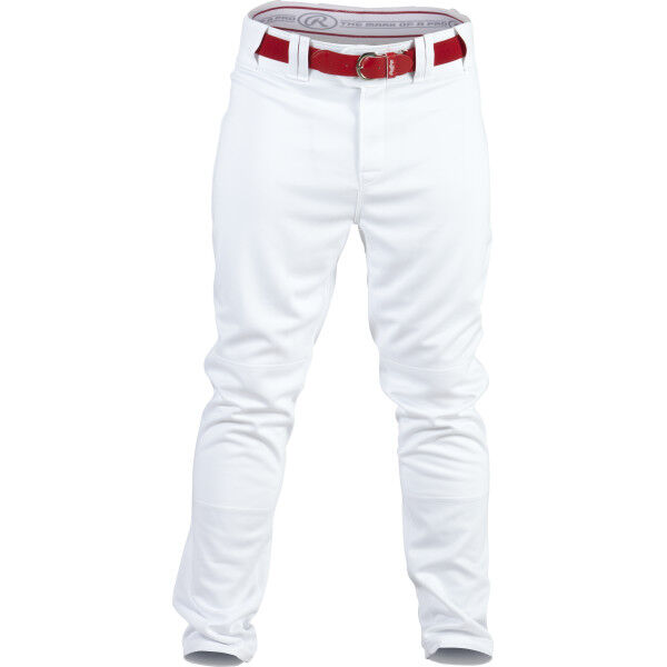 Adult Semi-Relaxed Pant White