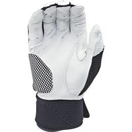 Adult Compression Strap Workhorse Batting Glove Black