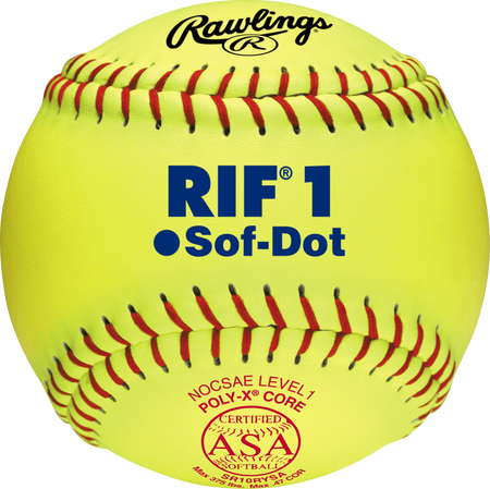 "10"" ASA RIF Official Softballs"