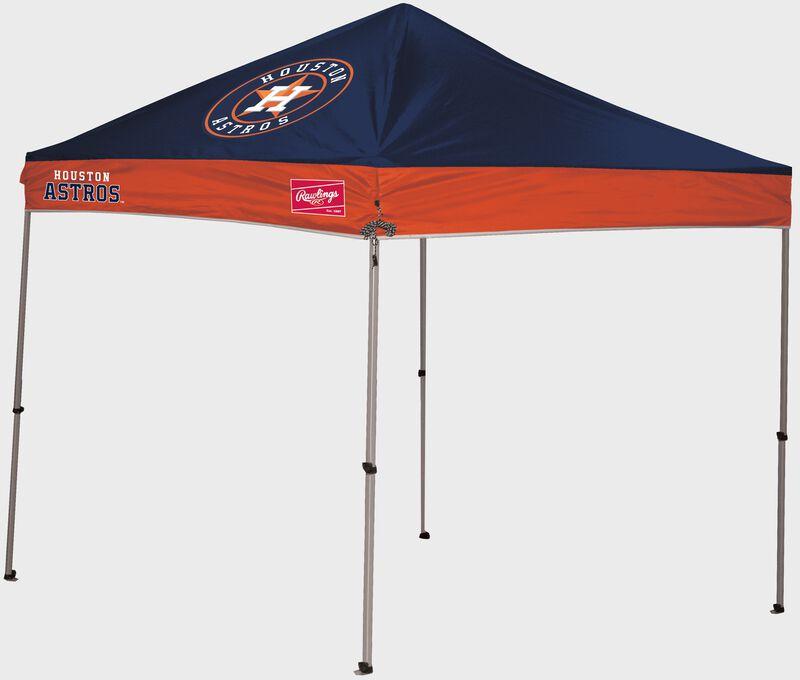 A Houston Astros 9x9 straight leg canopy