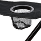 Mesh cup holder on the arm rest of a Rawlings high back chair - SKU: 00184043511 image number null
