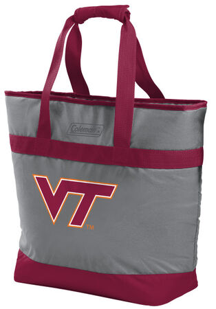 Rawlings Virginia Tech Hokies 30 Can Tote Cooler In Team Colors With Team Logo On Front SKU #07883111111