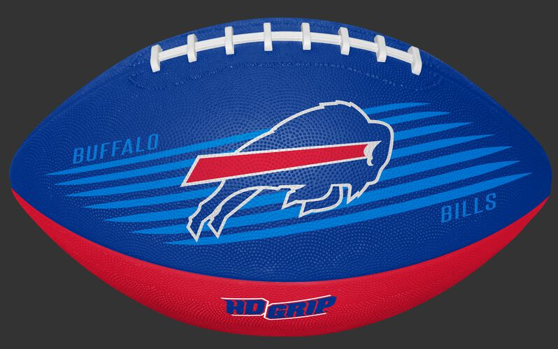Blue and Red NFL Buffalo Bills Downfield Youth Football With Team Logo SKU #07731061121