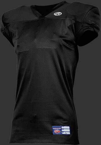Youth Game/Practice Football Jersey Black