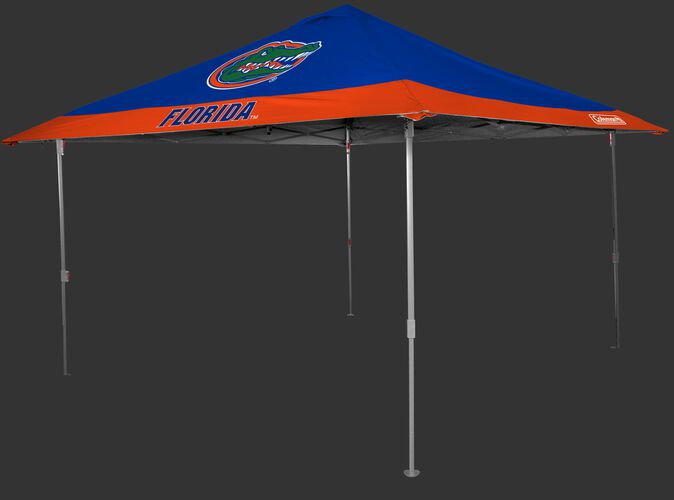 Rawlings Blue and Orange NCAA Florida Gators 10x10 Eaved Canopy With Team Logo SKU #07843022111