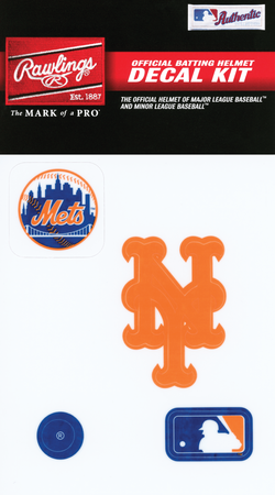 MLB New York Mets Decal Kit