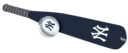 MLB New York Yankees Foam Bat and Ball Set